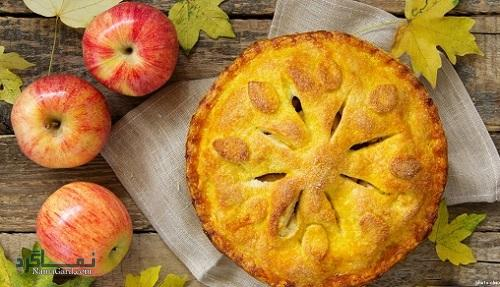 دستور پخت شیرینی پای سیب شیک