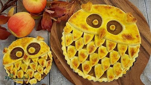پای سیب | طرز تهیه شیرینی پای سیب ساده + فیلم آموزشی