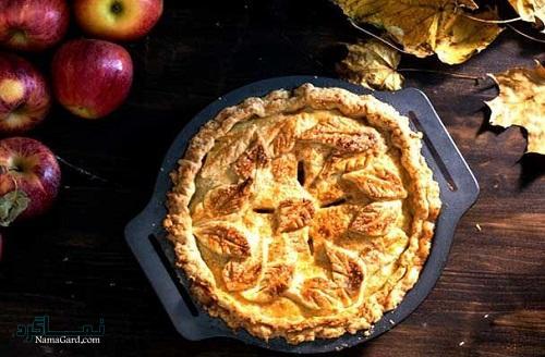 شیرینی پای سیب ساده