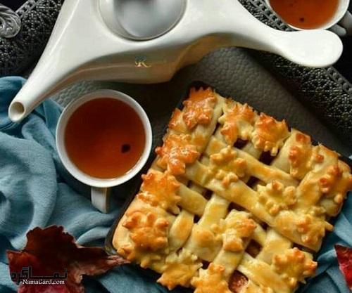 شیرینی پای سیب + فیلم آموزشی