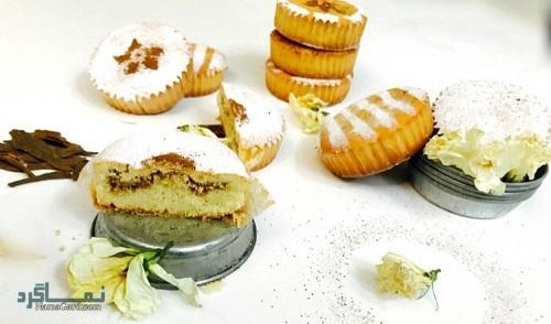شیرینی پای سیب + تزیین