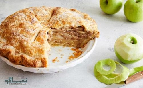 شیرینی پای سیب خوشمزه