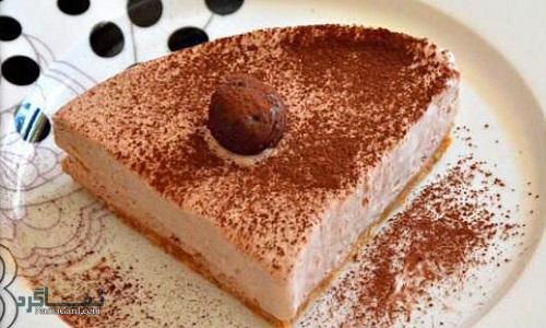 شیرینی پای شکلاتی