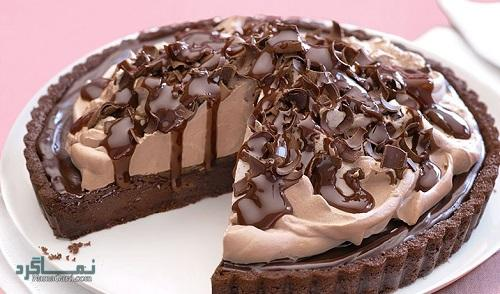 پای شکلاتی | طرز تهیه شیرینی پای شکلاتی خوشمزه + فیلم آموزشی