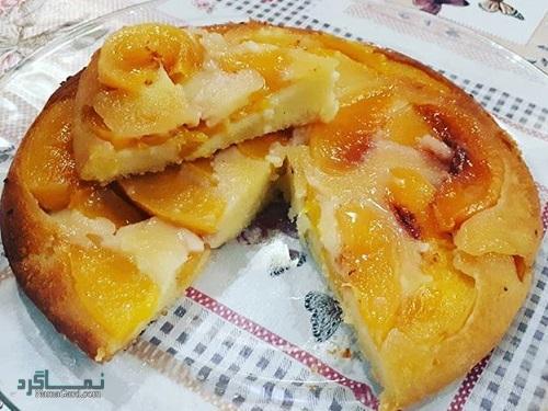 دستور پخت شیرینی پای هلو خوشمزه