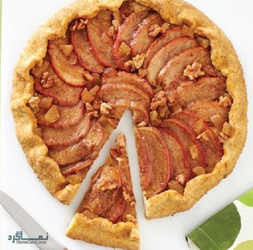 طرز تهیه تارت سیب ساده