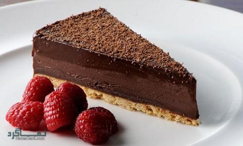 روش پخت تارت شکلاتی خوش طعم