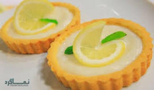 نحوه پخت تارت لیمویی مجلسی