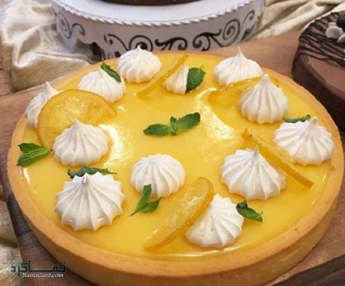 مراحل دستور پخت تارت لیمویی خوش طعم