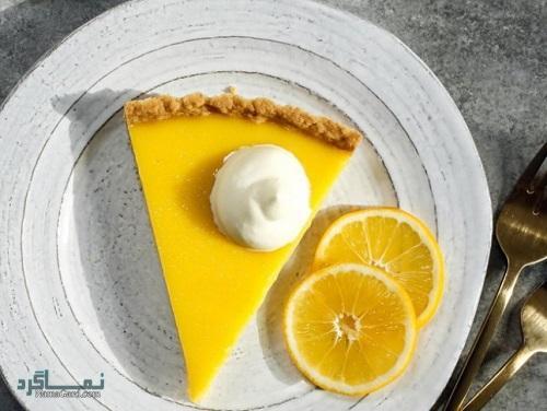 طرز تهیه تارت لیمویی خوشمزه + تزیین