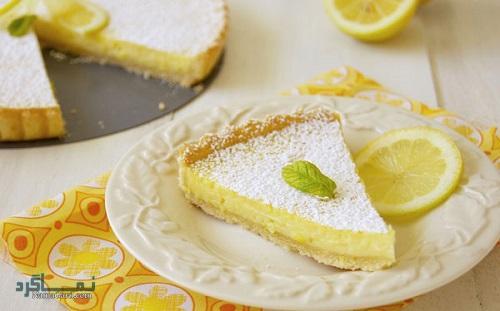 دستور پخت تارت لیمویی خوش طعم