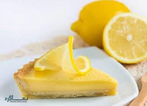 تارت لیمویی خوش طعم + تزیین