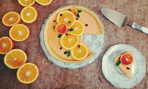 دستور پخت تارت پرتقالی مجلسی