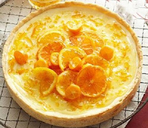 تارت پرتقالی خوش عطر