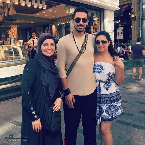 بیوگرافی کامیار احمدزاده و همسرش + زندگی شخصی