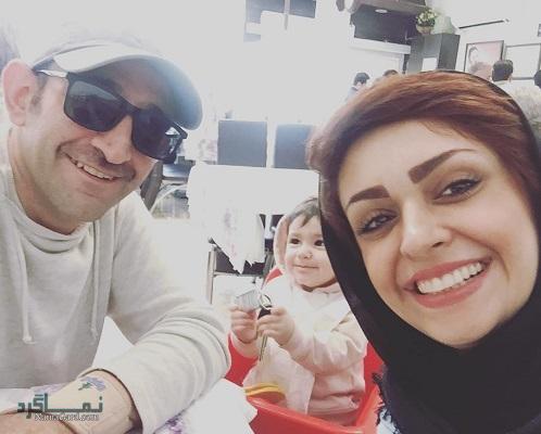 بیوگرافی مهشید ناصری همسر هدایت هاشمی + تصاویر آن ها