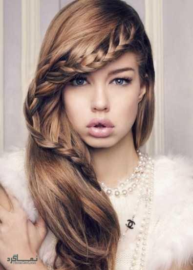 مدل بافت موی جلوی سر