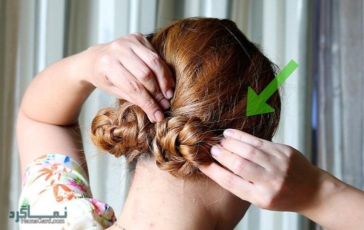 مدل بافت موی خرگوشی