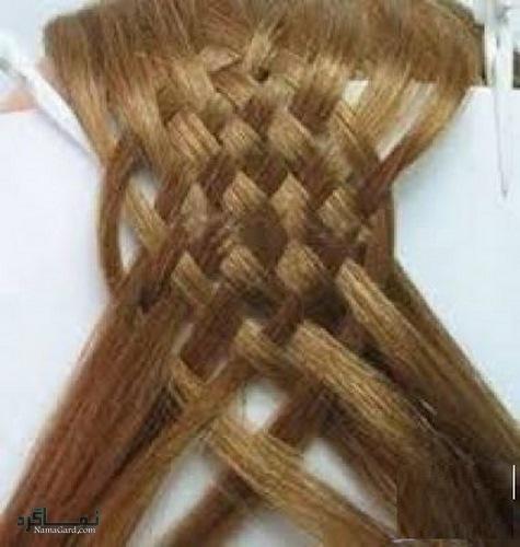 مدل بافت موی حصیری