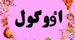 معنی اسم اٶوگول – نام اوگول – اسم های ترکی دخترانه زیبا