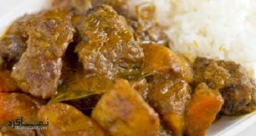 روش پخت خورشت چینی با گوشت