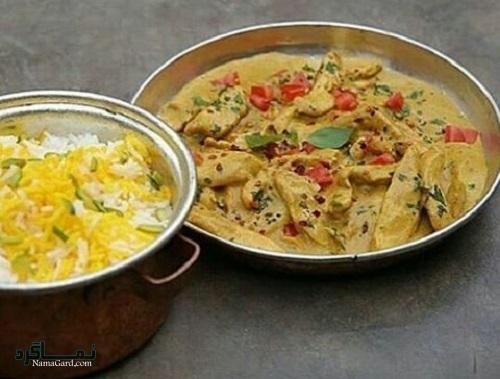 دستور پخت خورشت کاری خوش عطر + تزیین
