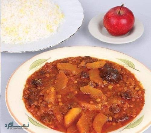 طرز تهیه خورشت سیب خوشمزه
