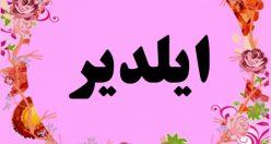 معنی اسم ایلدیر – نام ایلدیر – زیباترین نام های دخترانه ترکی