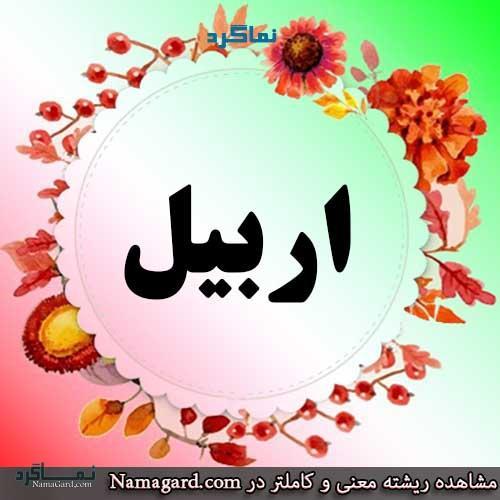 معنی اسم اربیل - نام اربیل - نامهای پسرانه ایرانی کردی