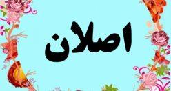 معنی اسم اصلان – معنی اصلان – اسم پسرانه ترکی