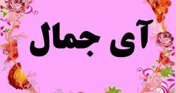 معنی اسم آی جمال – نام آی جمال – زیباترین اسم های دخترانه ترکی