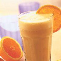 آموزش طرز تهیه میلک شیک پرتقالی خوشمزه + فیلم آموزشی