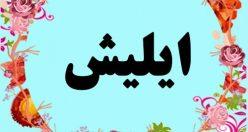 معنی اسم ایلیش – معنی ایلیش – اسم پسرانه ترکی