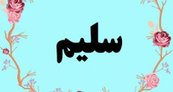 معنی اسم سلیم – نام سلیم – زیبا ترین نام های پسرانه عربی
