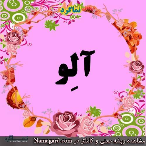 معنی اسم آلِو - آلو - اسم های ترکی دخترانه زیبابا معنی