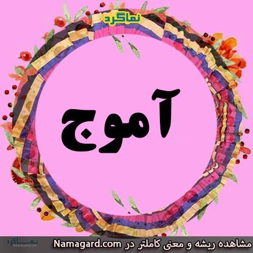 معنی اسم آموج