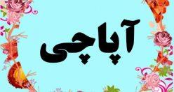معنی اسم آپاچی – معنی آپاچی – اسم پسرانه ترکی