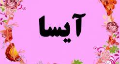 معنی اسم آیسا – نام آیسا – زیباترین اسم های دخترانه ترکی