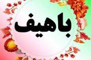 معنی اسم باهیف – نام باهیف – اسمهای پسرانه کردی