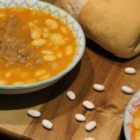فاصولیا عربی | طرز تهیه خورشت فاصولیا عربی با مرغ و لوبیا سفید