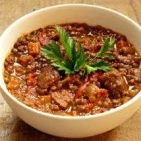خورشت مرجو | طرز تهیه خورشت مرجو (خورشت عدس) طالقان