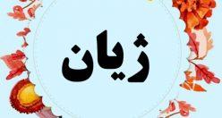 معنی اسم ژیان – نام ژیان – اسمهای کردی پسرانه