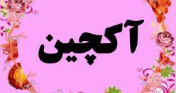 معنی اسم آکچین – نام آکچین – نامهای ترکی دخترانه زیبا با معنی