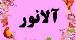 معنی اسم آلانور – نام آلانور – زیباترین اسم های دخترانه ترکی