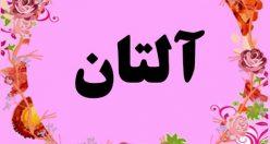 معنی اسم آلتان – نام آلتان – زیباترین اسم های دخترانه ترکی