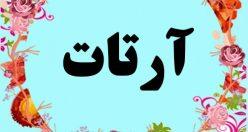 معنی اسم آرتات – معنی آرتات – نام پسرانه ترکی