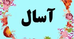 معنی اسم آسال – معنی آسال – نام پسرانه ترکی