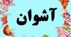معنی اسم آشوان – معنی آشوان – نام پسرانه ترکی