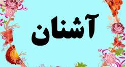 معنی اسم آشنان – معنی آشنان – نام پسرانه ترکی