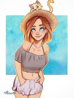 عکس پروفایل فانتزی دخترونه جذاب